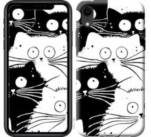 Чехол Коты v2 для iPhone XR