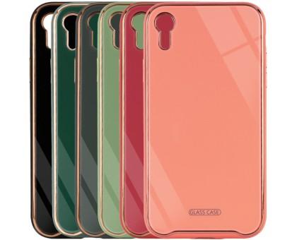 TPU+Glass чехол Venezia для Apple iPhone XR (6.1)