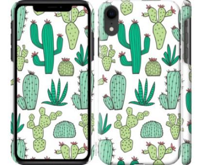 Чехол кактусы 2 для iPhone XR
