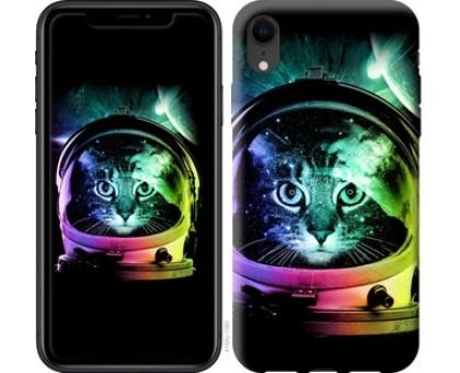 Чехол Кот-астронавт для iPhone XR
