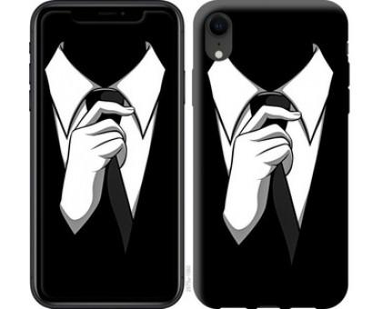 Чехол Галстук для iPhone XR