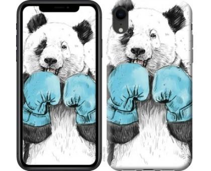 Чехол Панда-боксер для iPhone XR
