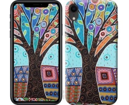 Чехол Арт-дерево для iPhone XR