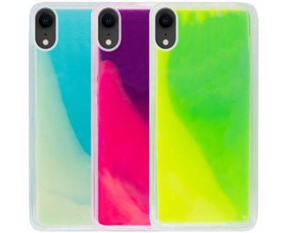 Неоновый чехол Neon Sand glow in the dark для Apple iPhone XR (6.1)