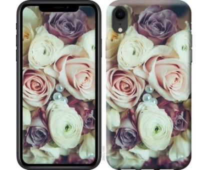 Чехол Букет роз для iPhone XR