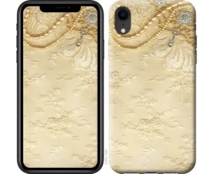 Чехол Кружевной орнамент для iPhone XR