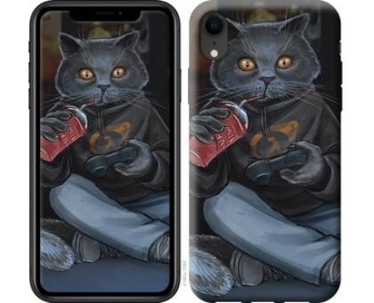 Чехол gamer cat для iPhone XR