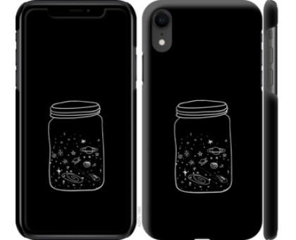 Чехол Космос в банке для iPhone XR