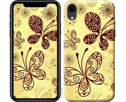 Чехол Красивые бабочки для iPhone XR