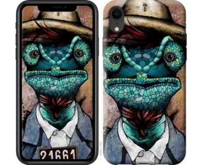 Чехол Хамелеон в розыске для iPhone XR