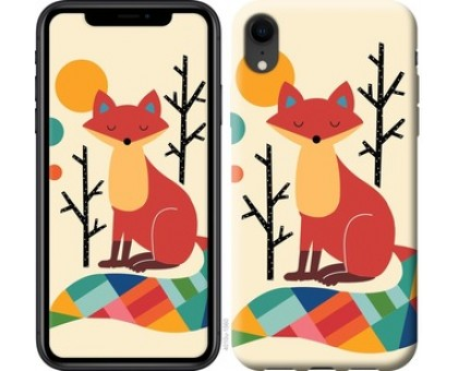 Чехол Rainbow fox для iPhone XR