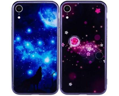 TPU+Glass чехол Fantasy с глянцевыми торцами для Apple iPhone XR (6.1)