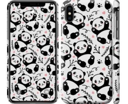 Чехол Панды для iPhone XS (5.8)