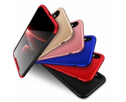 Пластиковая накладка GKK LikGus 360 градусов для Apple iPhone X / XS (5.8)
