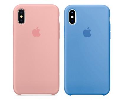 Чехол Silicone case (AAA) для Apple iPhone X (5.8) / XS (5.8)