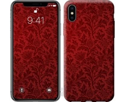 Чехол Чехол цвета бордо для iPhone XS (5.8)