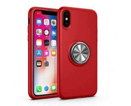 TPU чехол Summer ColorRing под магнитный держатель для Apple iPhone X / XS (5.8)