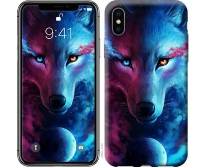 Чехол Арт-волк для iPhone XS (5.8)