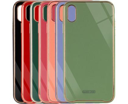 TPU+Glass чехол Venezia для Apple iPhone X / XS (5.8)