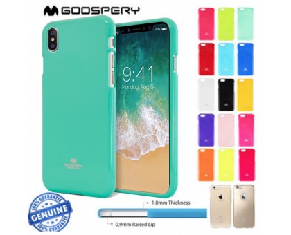 TPU чехол Mercury Jelly Color series для Apple iPhone X (5.8) / XS (5.8)