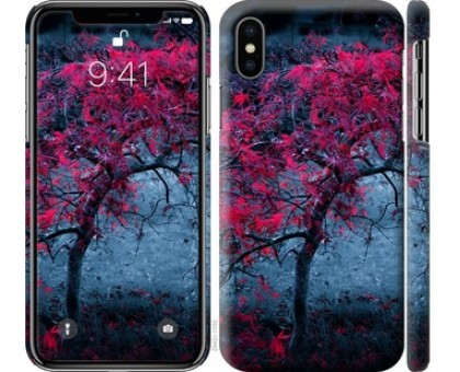 Чехол Дерево с яркими листьями для iPhone XS (5.8)