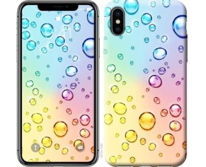 Чехол Пузырьки для iPhone XS (5.8)