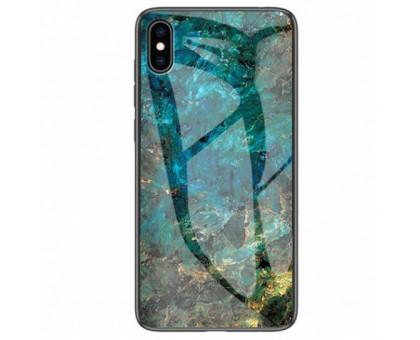 TPU+Glass чехол Luxury Marble для Apple iPhone X / XS (5.8)