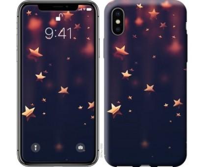 Чехол Падающие звезды для iPhone XS (5.8)