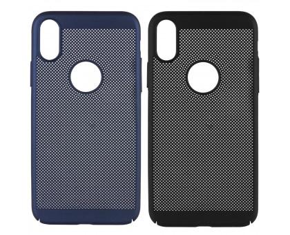Ультратонкий дышащий чехол Grid case для iPhone X (5.8) / XS (5.8)