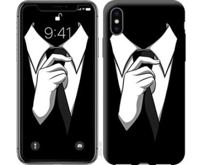 Чехол Галстук для iPhone XS (5.8)
