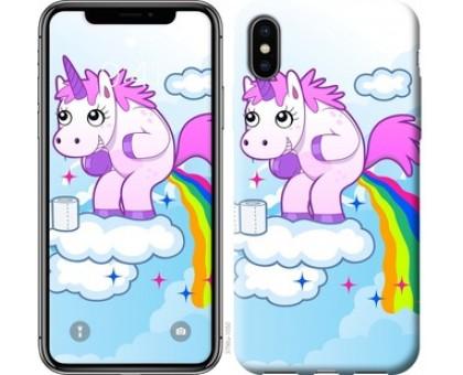 Чехол Единорожка для iPhone XS (5.8)