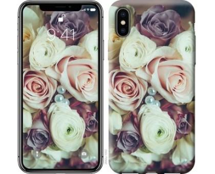 Чехол Букет роз для iPhone XS (5.8)