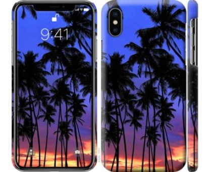Чехол Пальмы для iPhone XS (5.8)