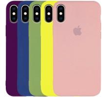 """Чехол Silicone Case Slim Full Protective для Apple iPhone X / XS (5.8"""")"""