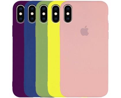 Чехол Silicone Case Slim Full Protective для Apple iPhone X / XS (5.8)