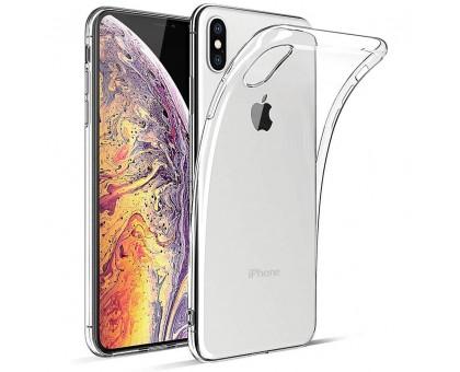TPU чехол Epic Transparent 1,0mm для Apple iPhone X / XS (5.8)