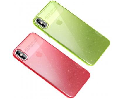 TPU чехол X-Level Rainbow Series для Apple iPhone X / XS (5.8)