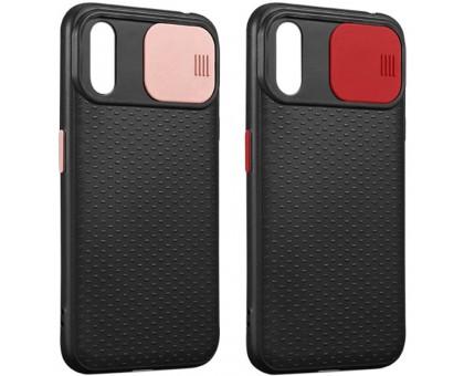 "Чехол Camshield Black TPU со шторкой защищающей камеру для Apple iPhone XS Max (6.5"")"