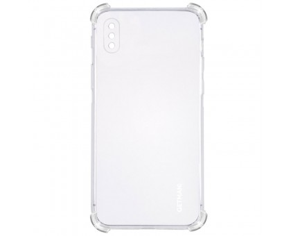 "TPU чехол GETMAN Ease logo усиленные углы для Apple iPhone XS Max (6.5"")"