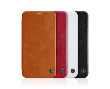 """Кожаный чехол (книжка) Nillkin Qin Series для Apple iPhone XS Max (6.5"""")"""