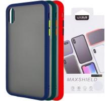 """TPU+PC чехол LikGus Maxshield для Apple iPhone XS Max (6.5"""")"""