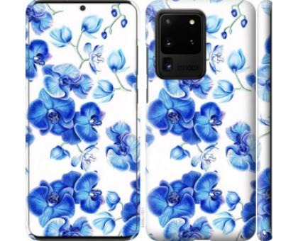 Чехол Голубые орхидеи для Samsung Galaxy S20 Ultra