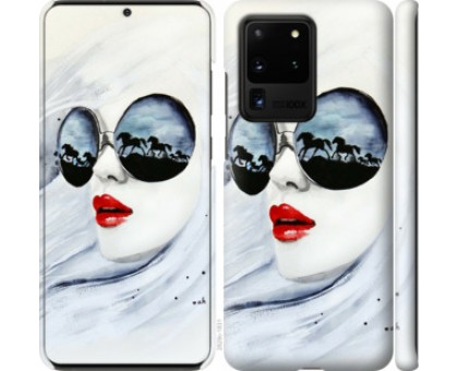 Чехол Девушка акварелью для Samsung Galaxy S20 Ultra