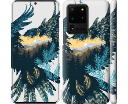 Чехол Арт-орел на фоне природы для Samsung Galaxy S20 Ultra