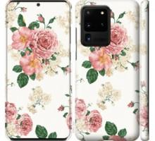 Чехол цветочные обои v1 для Samsung Galaxy S20 Ultra