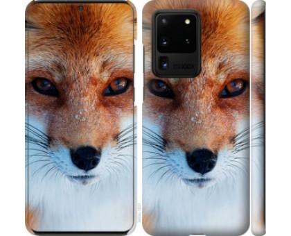 Чехол Рыжая лисица для Samsung Galaxy S20 Ultra