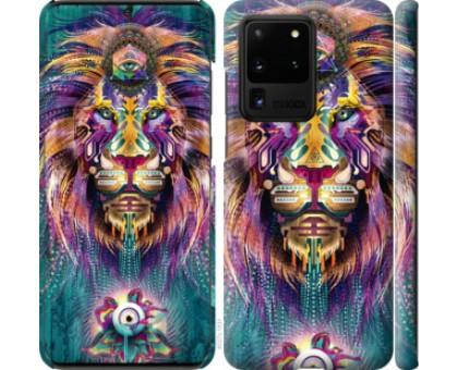 Чехол Люминесцентный лев для Samsung Galaxy S20 Ultra