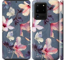 Чехол Нарисованные цветы для Samsung Galaxy S20 Ultra