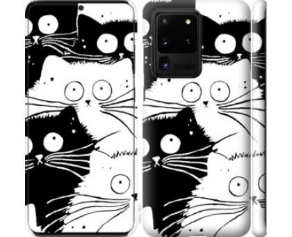 Чехол Коты v2 для Samsung Galaxy S20 Ultra