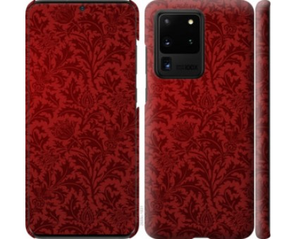 Чехол Чехол цвета бордо для Samsung Galaxy S20 Ultra